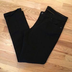"Old Navy ""The Diva"" black jeans size 14"